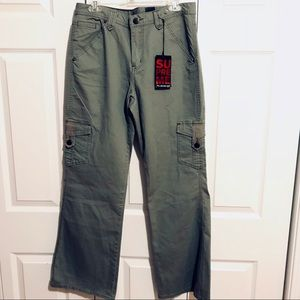 New Lane Bryant cargo pants 14 olive green